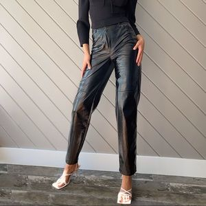 LE FOU WILFRED | Funk Pant Vegan Patent Leather